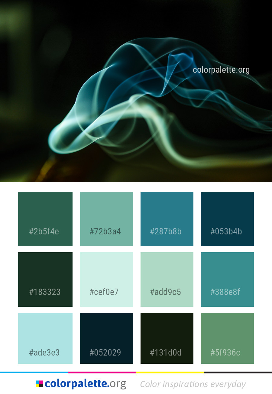 Blue Green Smoke Color Palette Colorpalette Org,Barbra Streisand Mall Under Her House