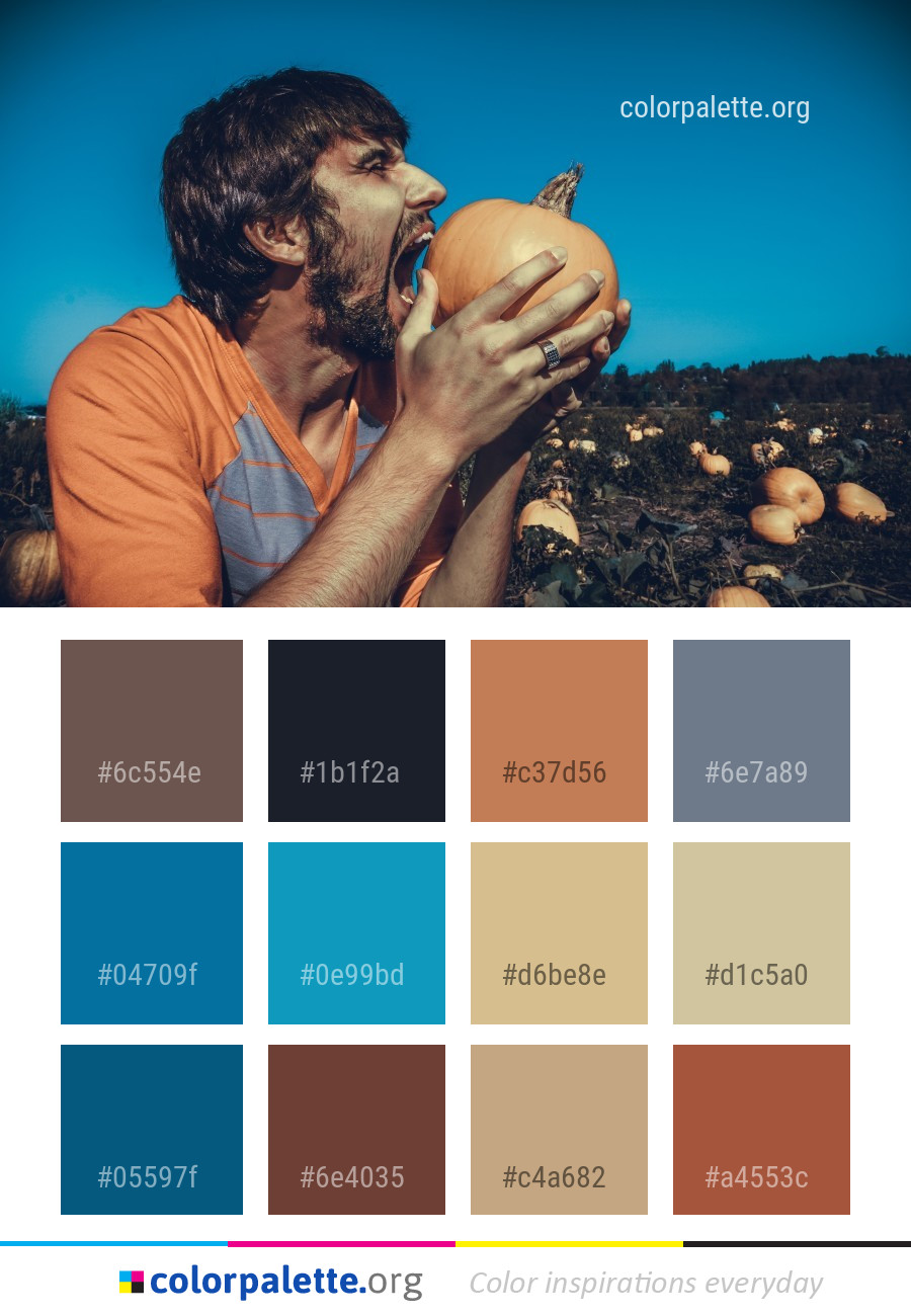 Fun Emotion Girl Color Palette | colorpalette.org