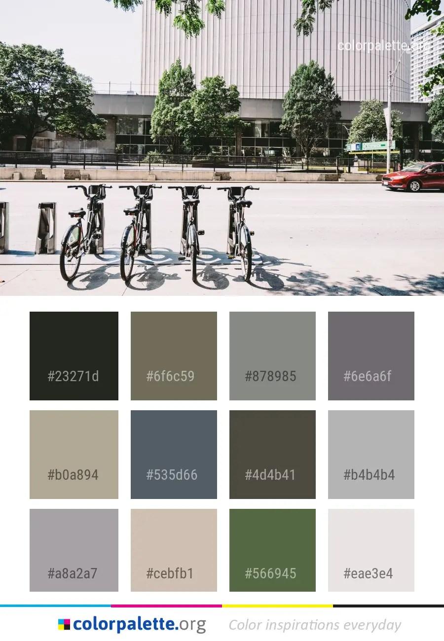 Transport Lane Motor Vehicle Color Palette - colorpalette.org