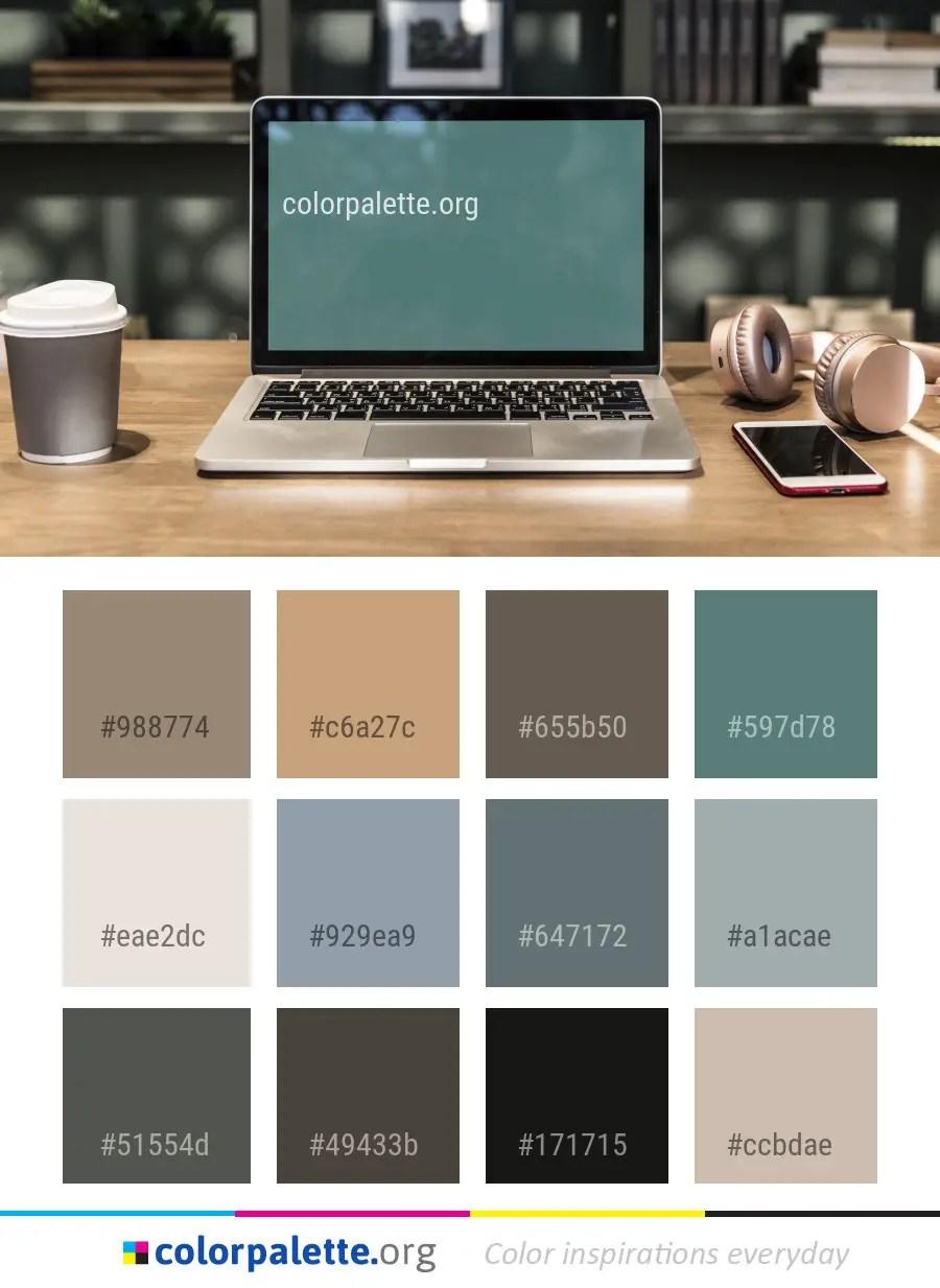 Laptop Product Technology Color Palette   colorpalette.org