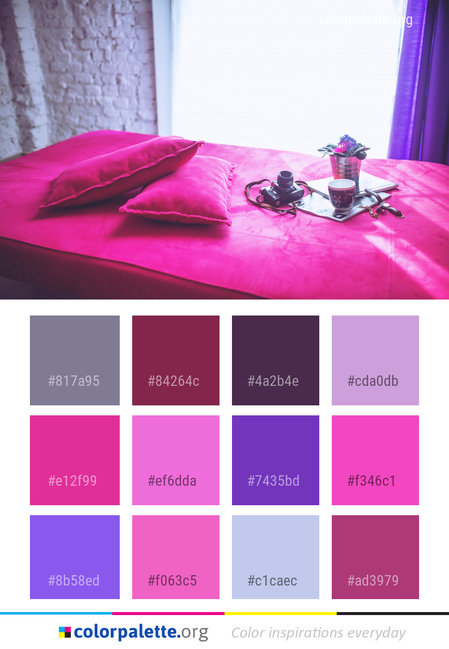 Pink Red Purple Color Palette | colorpalette.org