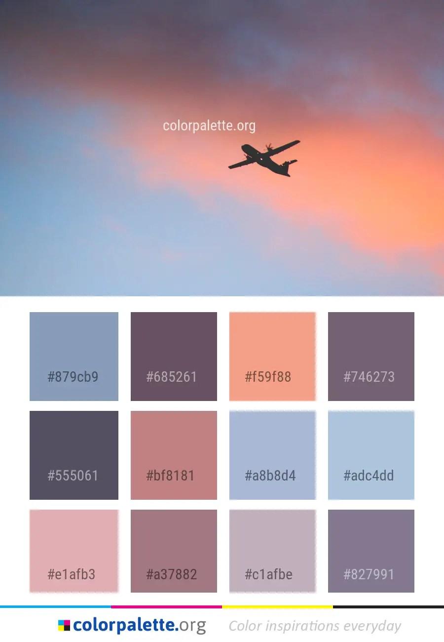 Air Color Palette : color, palette, Travel, Color, Palette, Ideas, Colorpalette.org