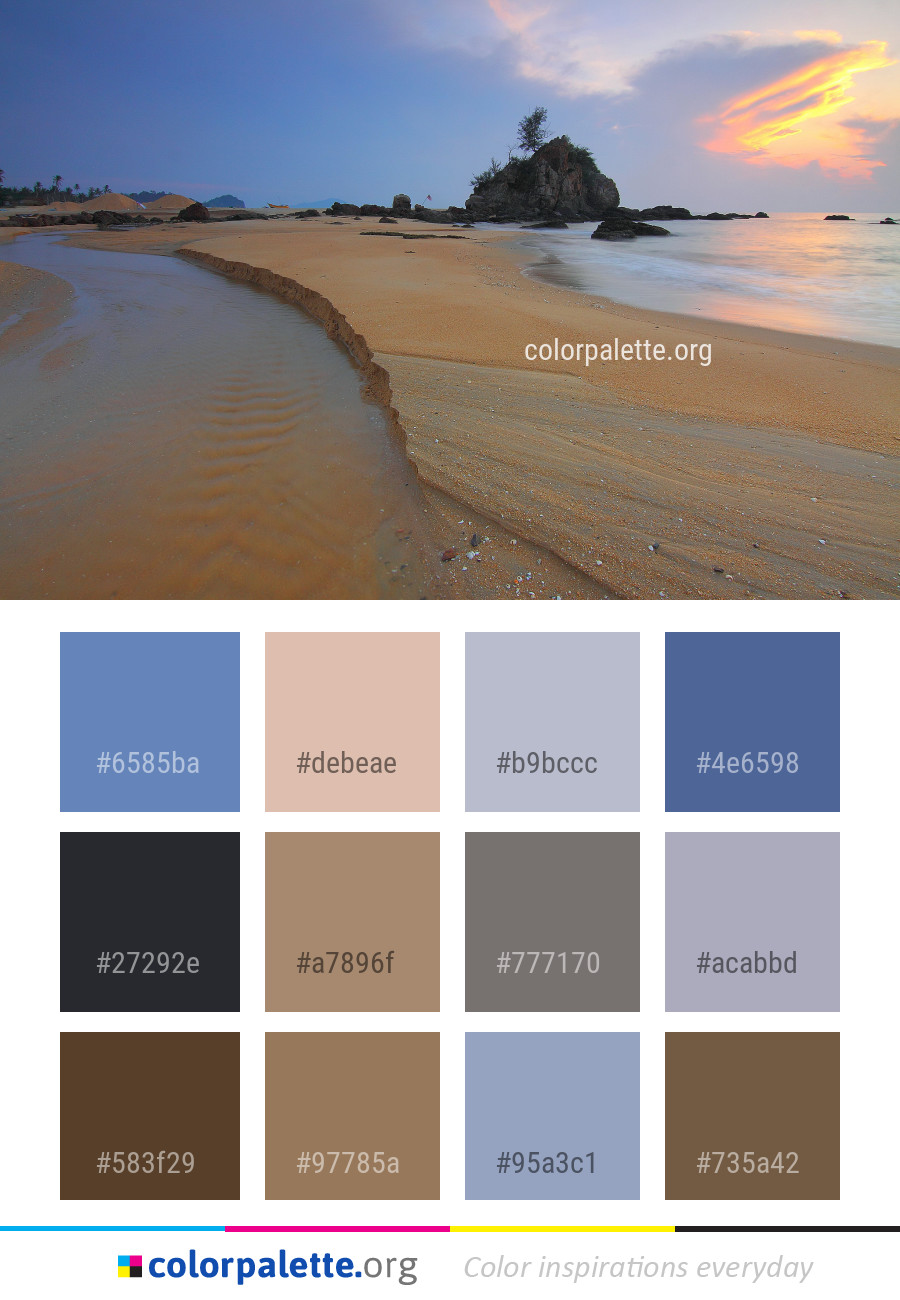 Sky Body Of Water Sea Color Palette Colorpalette Org