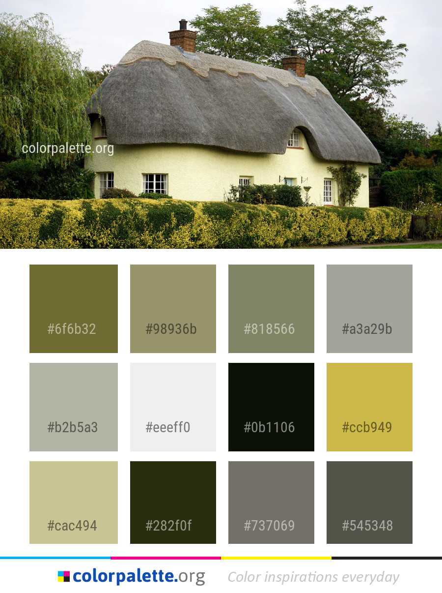 Super Thatching Cottage House Color Palette Colorpalette Org Download Free Architecture Designs Scobabritishbridgeorg
