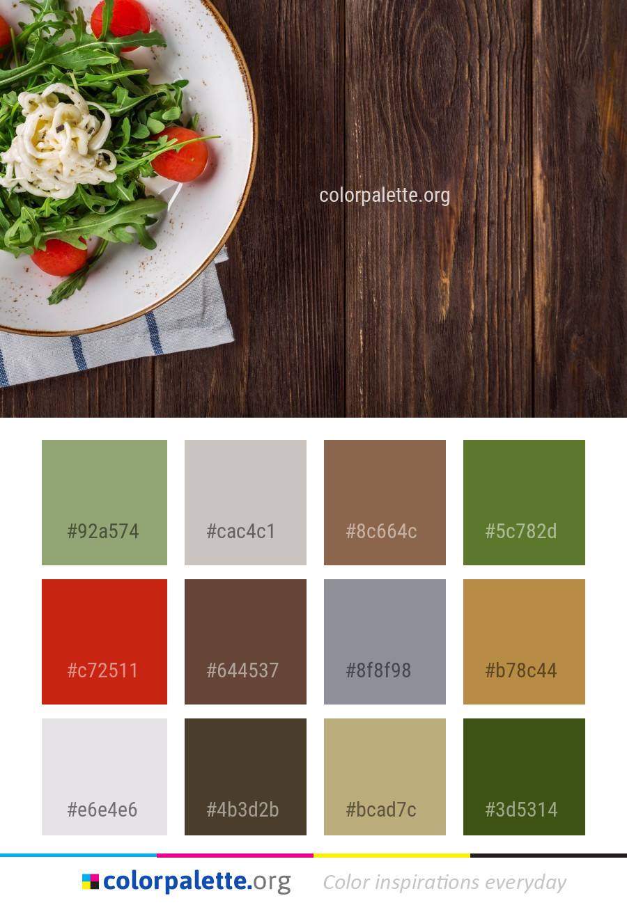 Vegetable Dish Food Color Palette Colorpalette Org
