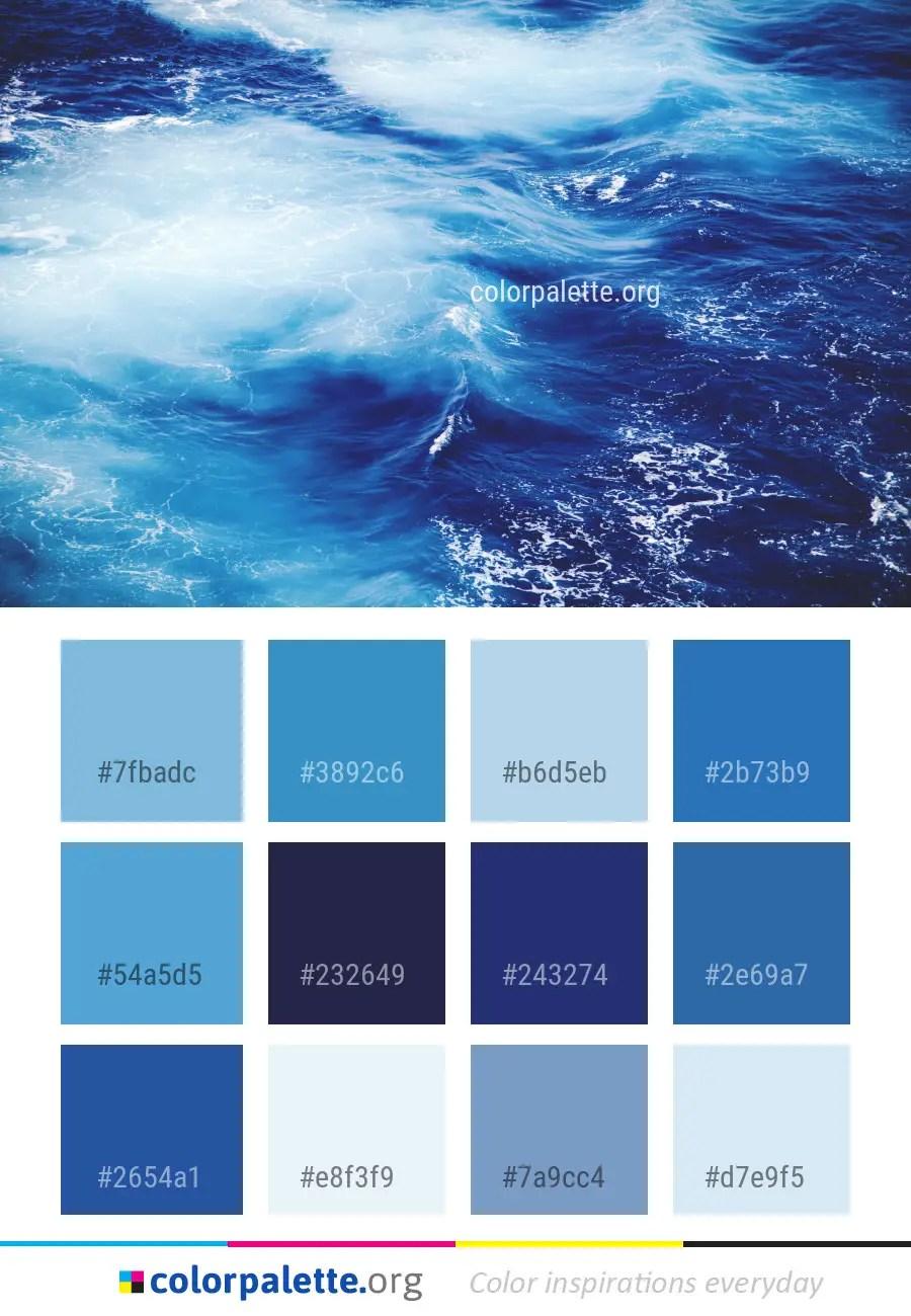 how to make blue colour