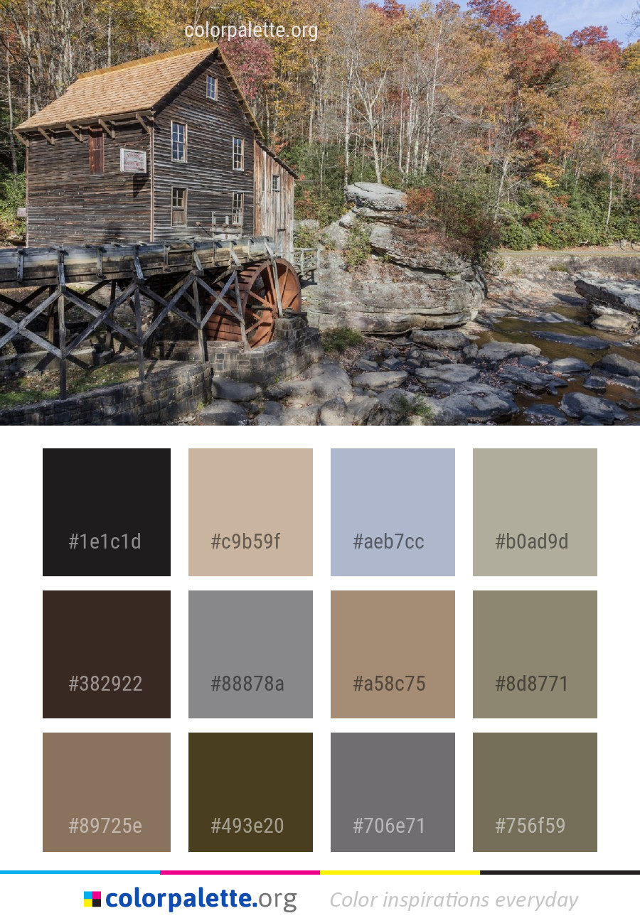 Excellent Water Cottage Wilderness Color Palette Colorpalette Org Download Free Architecture Designs Scobabritishbridgeorg