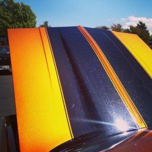 Shimmer Orange Copper Color Pearls - Metallic Pigment
