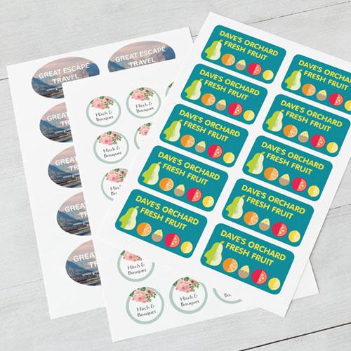 PVC-WHITE-Sticker