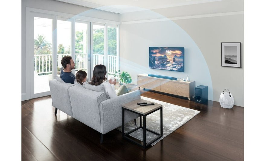 Cinematic surround sound and crystal-clear dialogue