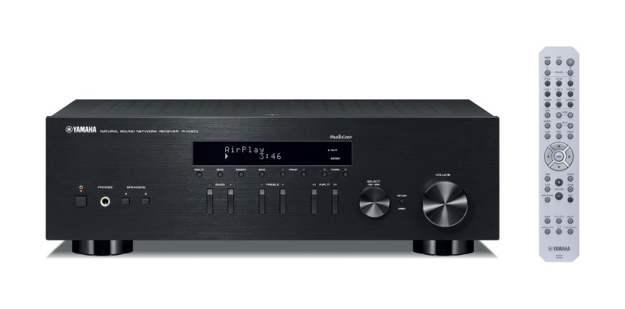 Yamaha R-N303BL with Remote Controller