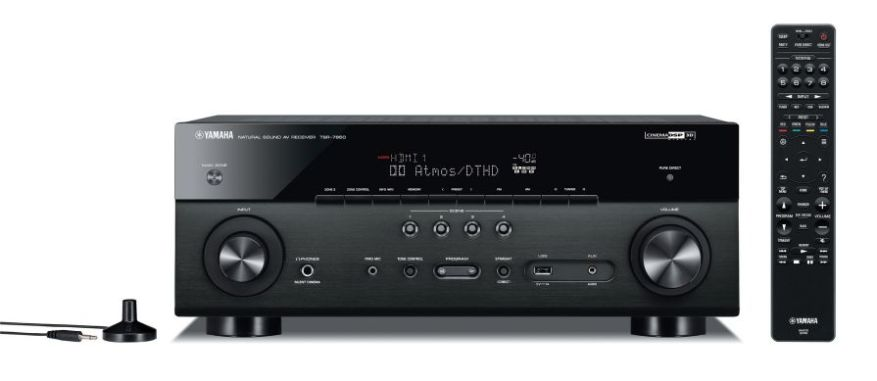 Yamaha TSR-7850 Front Review