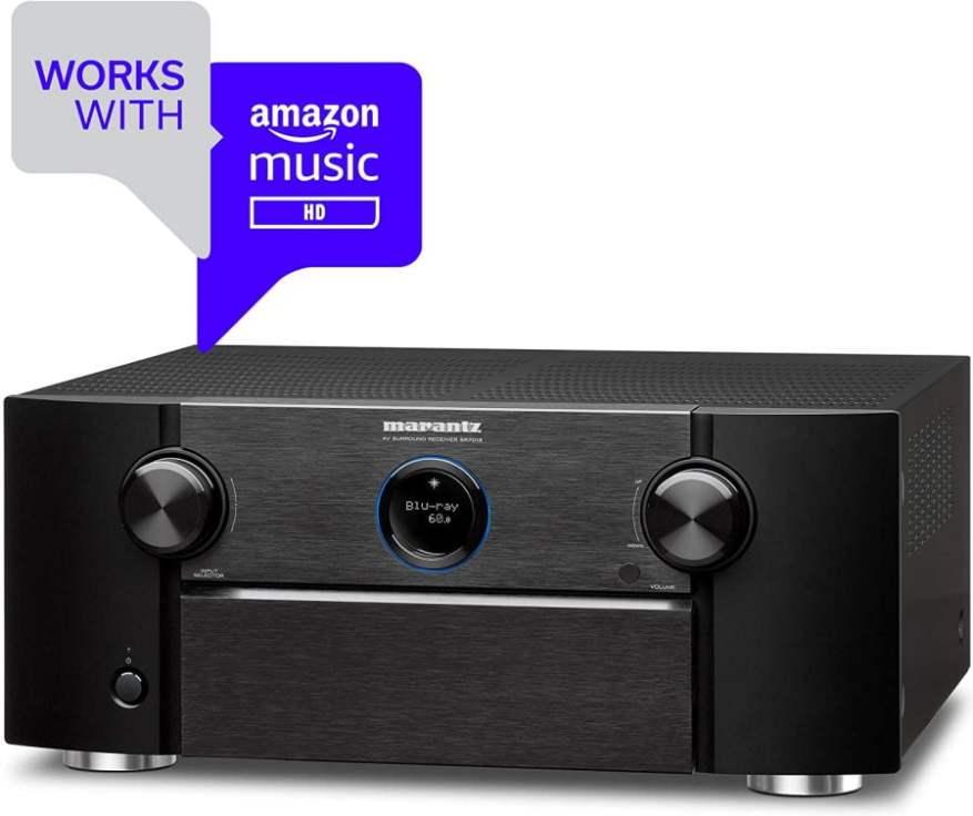 Works with Amazon Music Marantz SR7013 AV Receiver