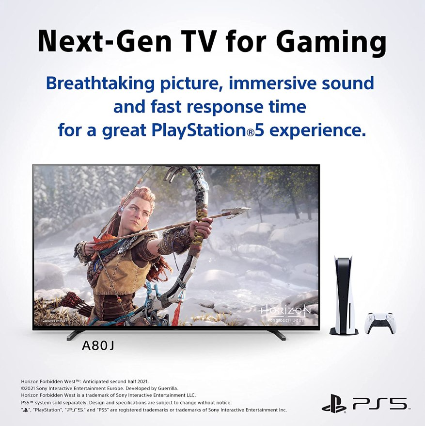 Sony A80J Gaming