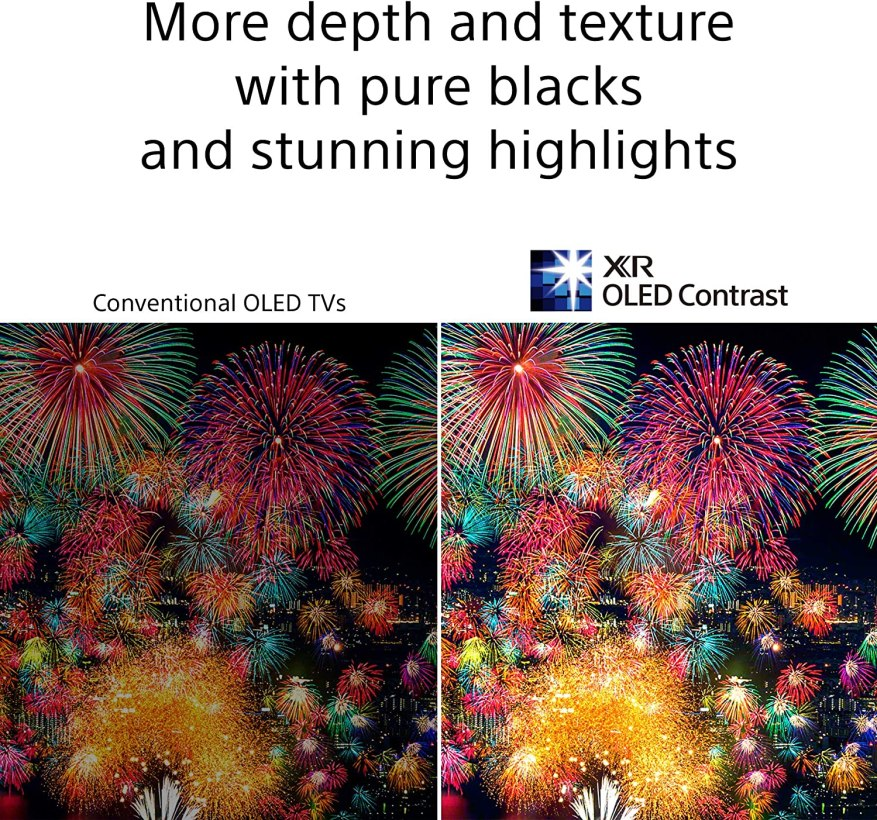 Sony A80J OLED Contrast