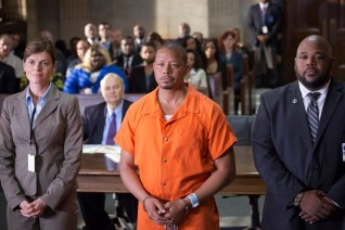 EMPIRE: Gail Restorer as Harvard #2 and Terrence Howard as Lucious Lyon in the ÒThe Devils Are HereÓ Season Two premiere episode of EMPIRE airing Wednesday, Sept. 23 (9:00-10:00 PM ET/PT) on FOX. ©2015 Fox Broadcasting Co. Cr: Chuck Hodes/FOX.