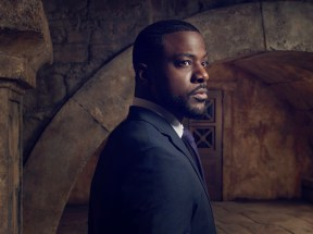 SLEEPY HOLLOW: Lance Gross as Agent Reynolds. SLEEPY HOLLOW Season Three premieres Monday, Oct.1 (9:00-10:00 PM ET/PT) on FOX. ©2014 Fox Broadcasting Co. CR: Michael Lavine/FOX