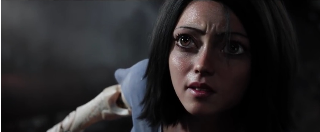 "Who decided that giving ""Alita: Battle Angel"" real anime eyes was a good idea? (Plus other gripes)"