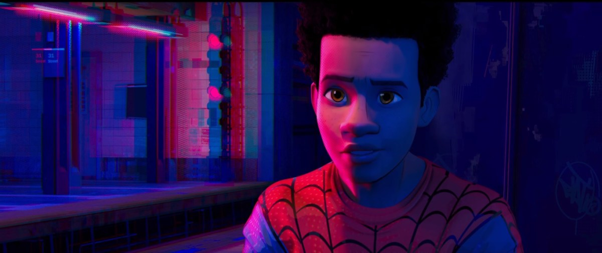 "Is ""Spider-Man: Into the Spider-Verse"" literally the most beautiful Marvel movie ever?"