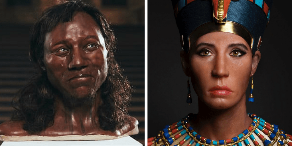 Cheddar Man and Nefertiti tell a tale of two different historical reconstructions