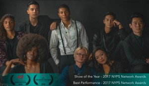 "The cast of ""Pretty Dudes."" ""Pretty Dudes"" is an Asians on Film Festival 2018 Official Selection and Best Music Video Winner at Asians on Film Festival 2018 for ""How We Break-Pretty Dudes."" ""Pretty Dudes"" is also the recipient of the 2017 NYPS Network Awards Show of the Year and Best Performance awards."