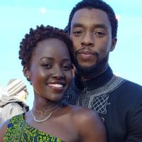 "That ""Black Panther"" photo Lupita Nyong'o tweeted looks like an engagement photo"