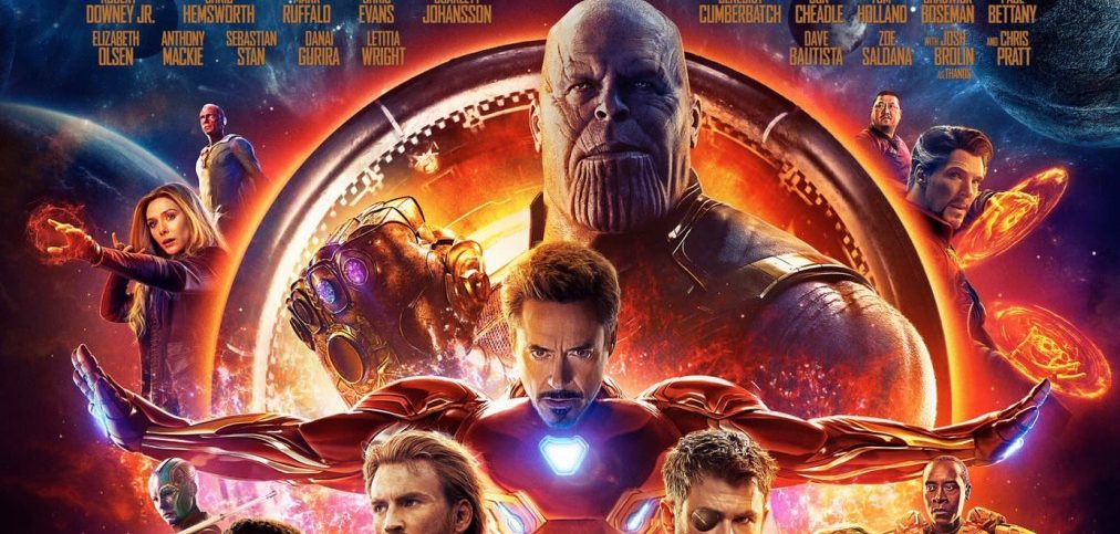 "What exactly am I looking at here in the ""Avengers: Infinity War"" poster?"