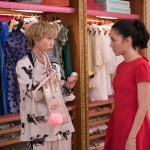 "Photo Credit: Sanja Bucko Caption: (L-R) AWKWAFINA as Peik Lin and CONSTANCE WU as Rachel in Warner Bros. Pictures' and SK Global Entertainment's and Starlight Culture's contemporary romantic comedy ""CRAZY RICH ASIANS,"" a Warner Bros. Pictures release."