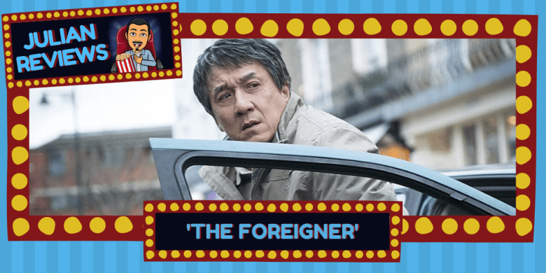 "Jackie Chan in ""The Foreigner"""