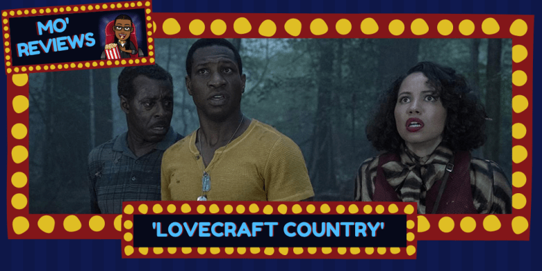 Courtney B. Vance, Jonathan Majors and Jurnee Smollett in Lovecraft Country