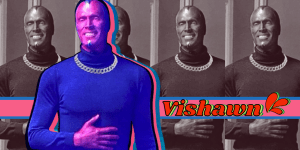 Vishawn photo illustration