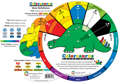 Colorsaurus – Kid's Wheel