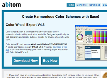 Color wheel expert website