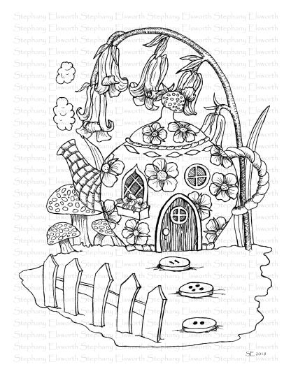 Teapot Cottage Fairy House