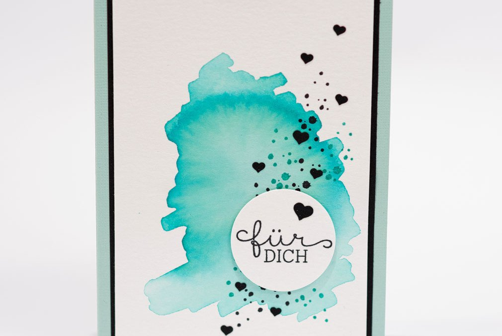 Aquarellkarten mit Stampin Up