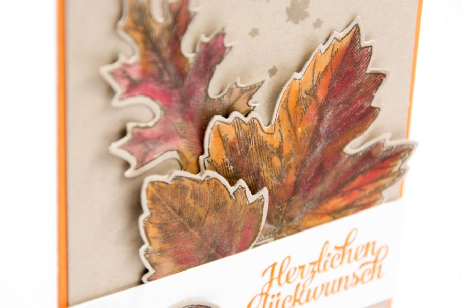 Vintage Leaves Stampin Up
