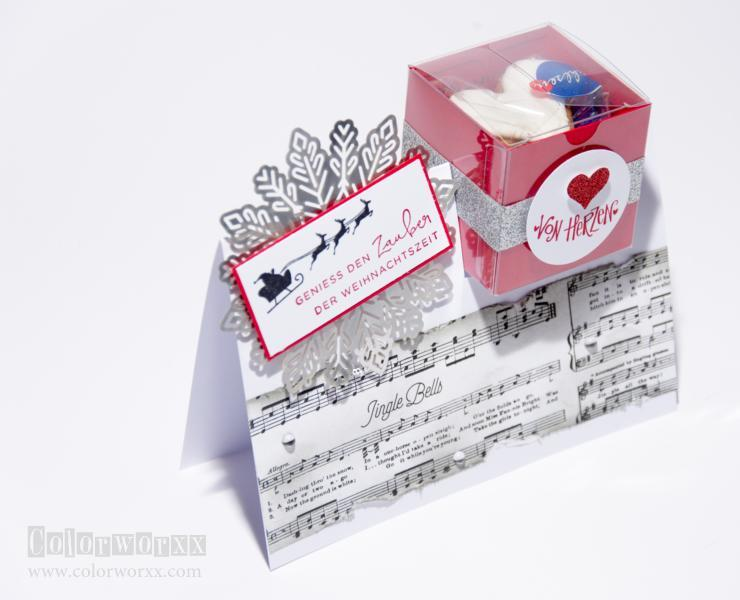 Card in a box Stampin Up