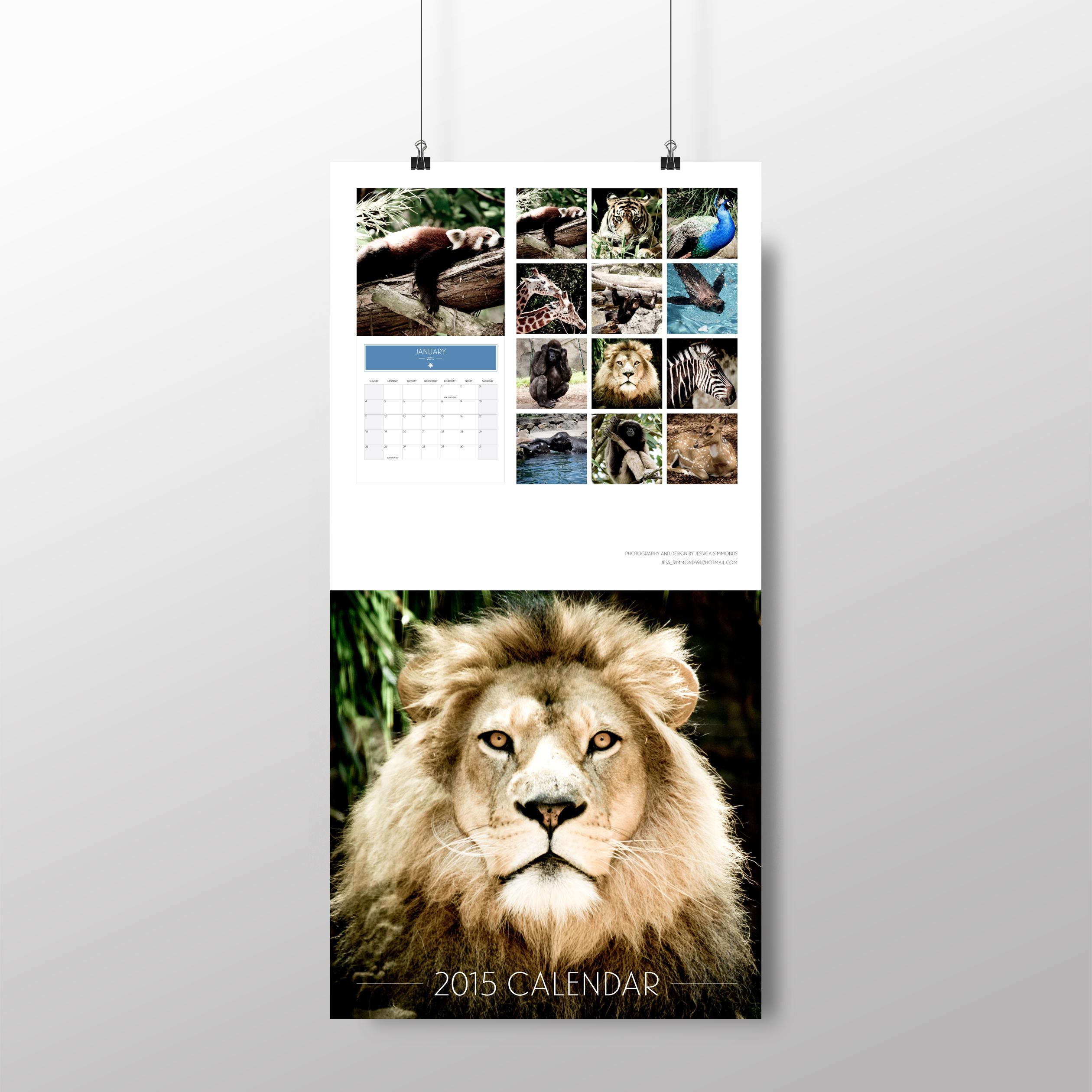 Animal calendar – cover