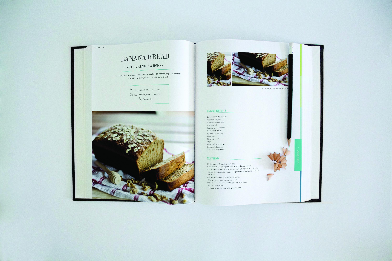 Bittersweet recipe book – banana bread
