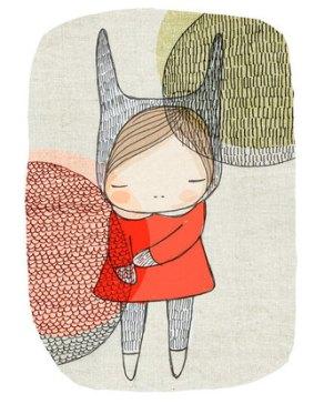 Bunny_Girl_With_Cirles_Illsutration_Nomuu__43007.1370320321.451.416