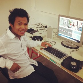 Young Media Makers Project participant Sher Nay Moo.
