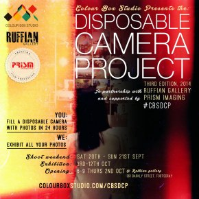 Colour Box Studio Disposable Camera Project Third Edition 2014