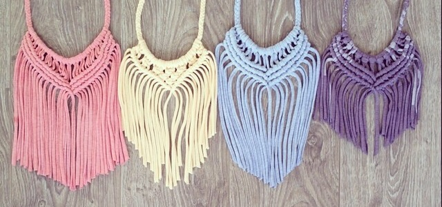 Kirri-MaDe Macrame Necklaces