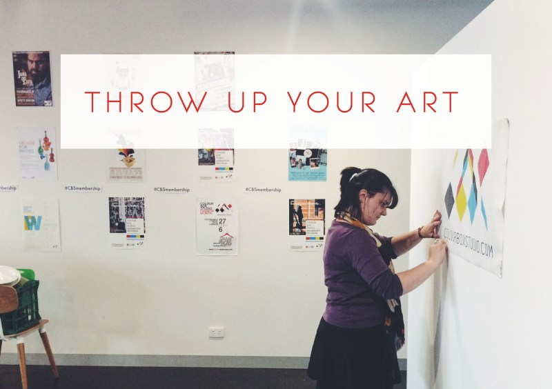 Throw Up Your Art - Colour Box Studio Members and Volunteers Exhibition 2016