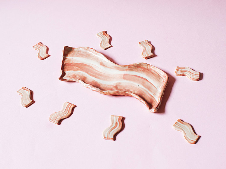 Bacon Plate by Designani. Image provided.