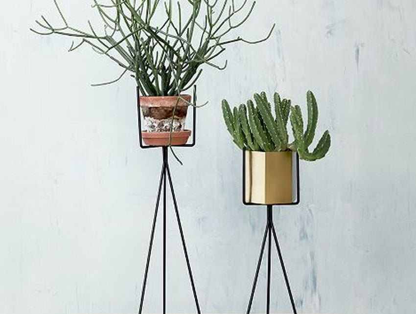 Retro Plant Stands From Ferm LIVING • Colourful Beautiful