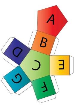 Musical Alphabet Dice