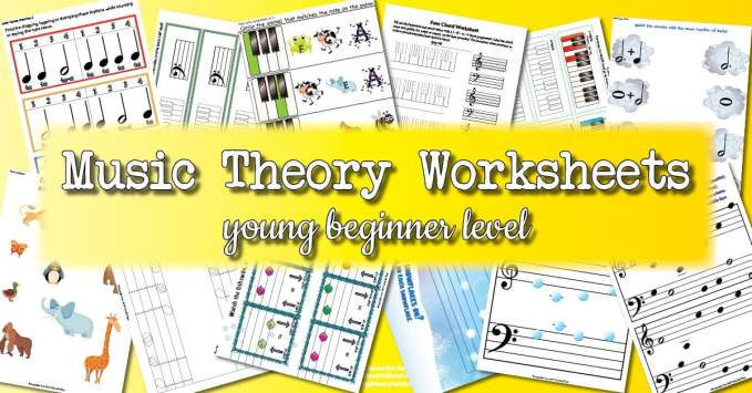 Theory Worksheet Catalogue – Young Beginner