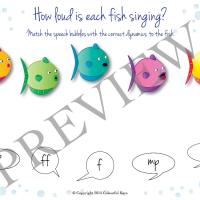 Fiendish fishiness worksheet preview 1