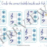 Fiendish fishiness worksheet preview 8